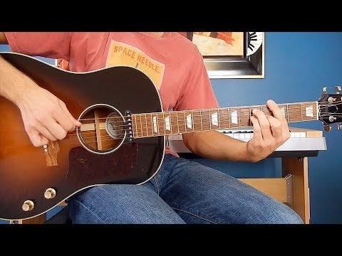 The Beatles - I Feel Fine - Guitar Cover - Gibson J-160E