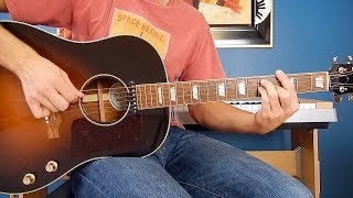 The Beatles - I Feel Fine - Guitar Cover - Gibson J-160E