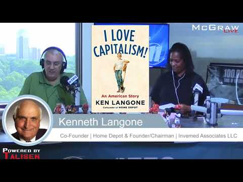 """Kenneth Langone new book, """"I LOVE CAPITALISM!: An American Story"""""""