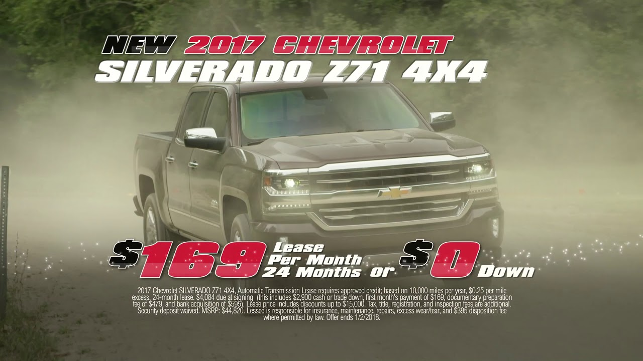 Year End Clearance At Boch Chevy
