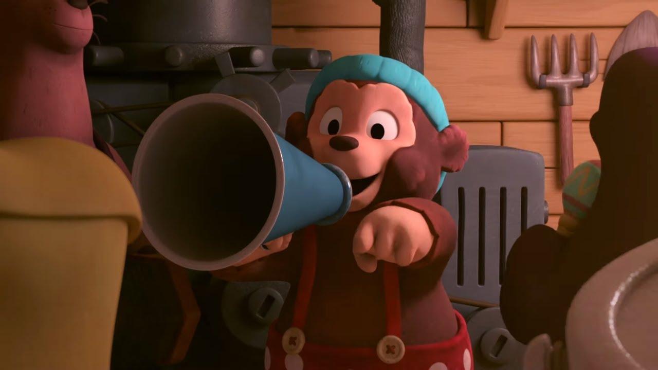 Приключения медвежонка Расмуса - Шумные ребята (15 серия) - Новые мультфильмы для детей