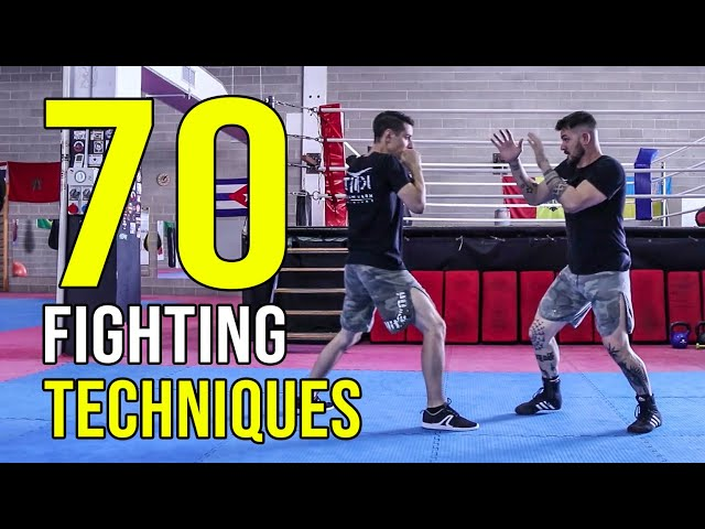 ALL FIGHTING TECHNIQUES YOU MUST KNOW