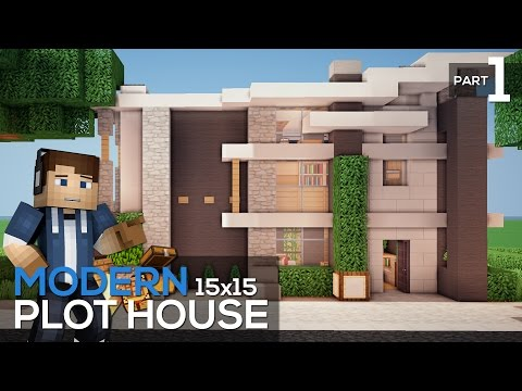 plot house tutorial modern 15x15 plot house part 1