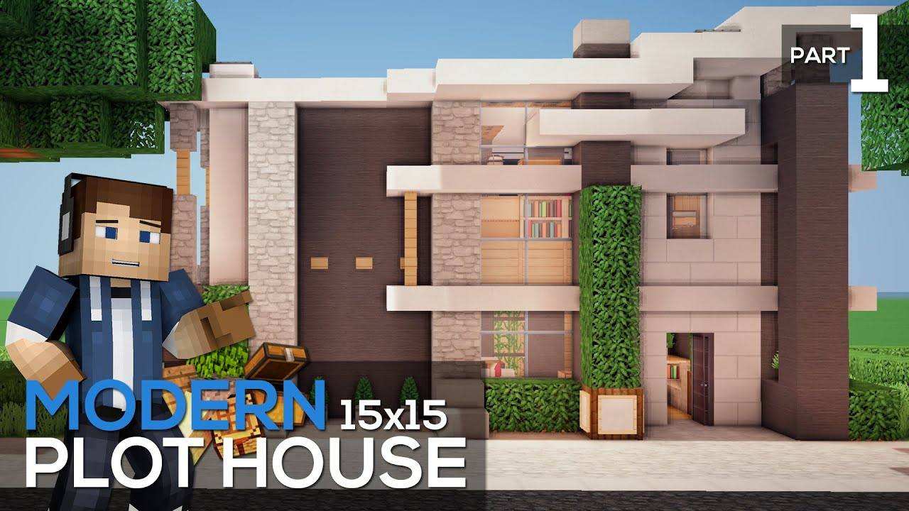 Plot House Tutorial Modern 15x15 Plot House Part 1 YouTube