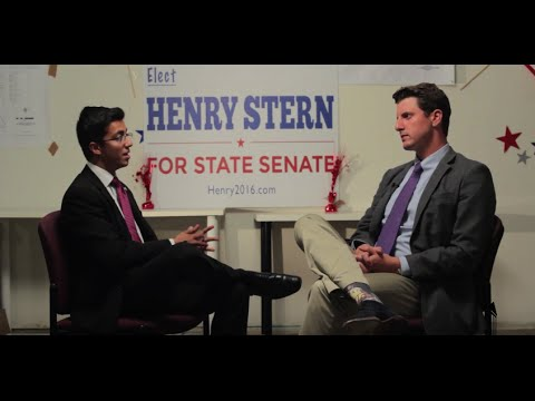 Shawn Haq's Interview with State Senate Candidate, Henry Stern