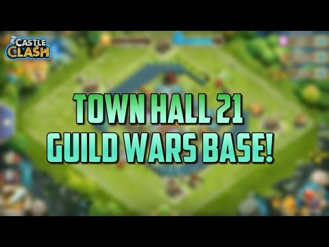Castle Clash BEST Th 21 Guild Wars Base!