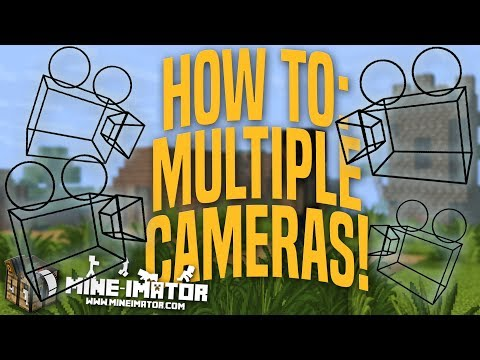 Mine-imator Tutorial - How To Use Multiple Cameras | Part 16
