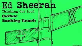Ed Sheeran - Thinking Out Loud (Guitar Backing Track) + Vocals