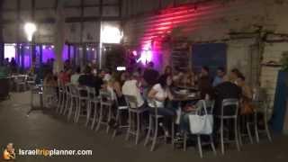 The Container Restaurant Old Jaffa Port, Tel Aviv, Israel