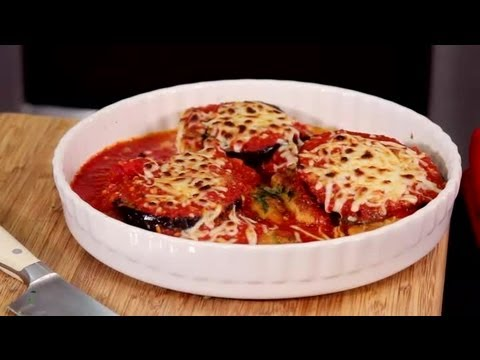 Breaded Chicken Cutlets With Eggplant & Mozzarella : Flavorful Dishes