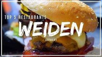 Top 5 Weiden Restaurants: Where to eat in Weiden in der Oberpfalz?