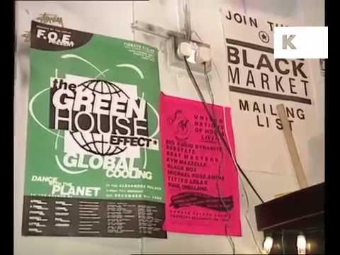 1980s 1990s London Dance Music Record Shop, Black Market