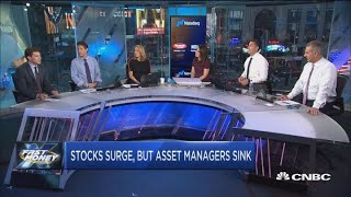 Why is one key group of stocks sitting out the historic market rally?