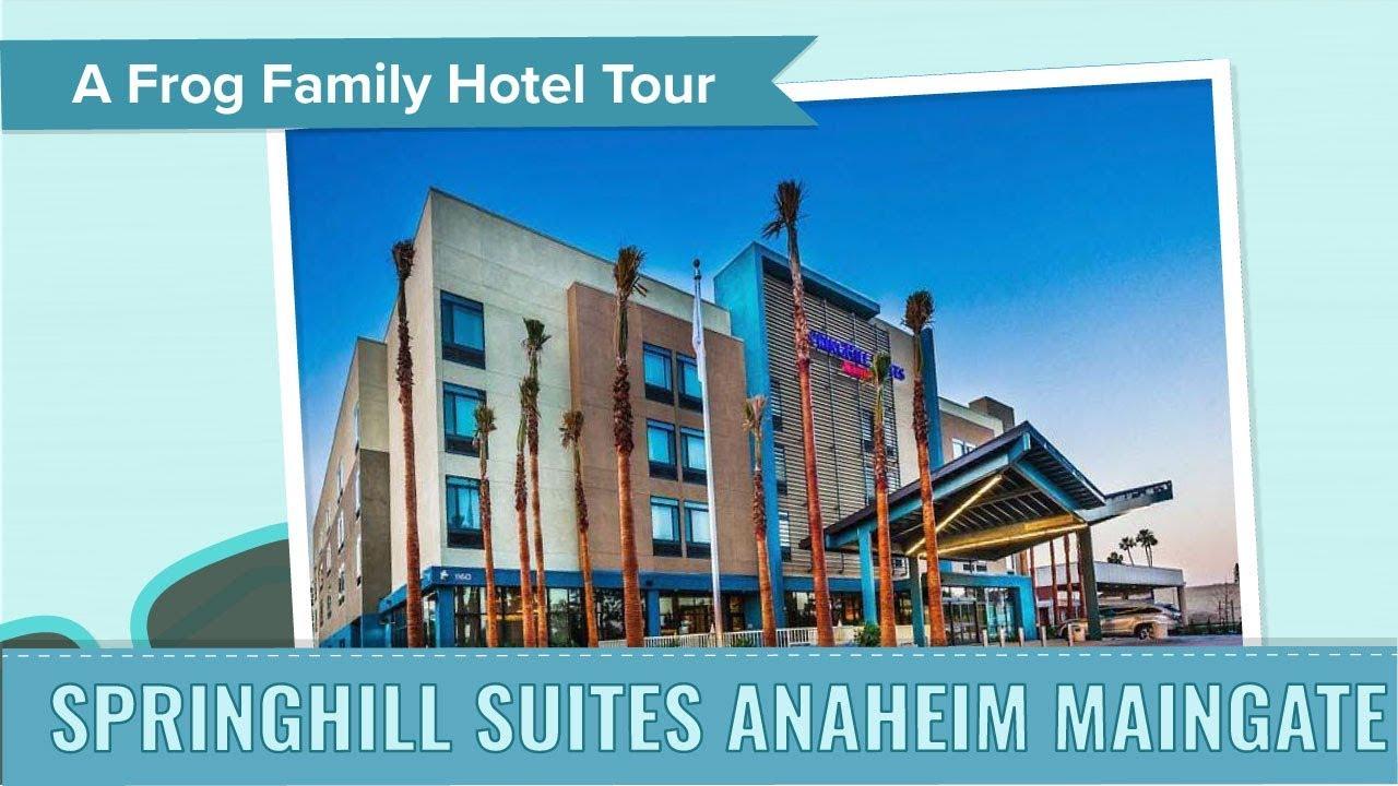 Springhill Suites Anaheim Maingate Hotel Tour, an Undercover Tourist ...