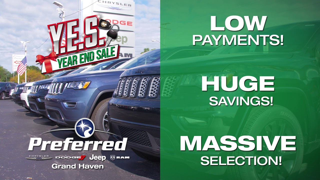 Preferred Grand Haven >> Yes Event 15 Second Commercial A Preferred Chrysler Dodge Jeep Ram Grand Haven