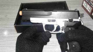 Vendo pistola de airsoft HFC Spring P226