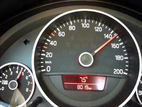 VW Up! 44kW / 60PS Beschleunigung nach 8000 km