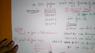 dml in sql with examples