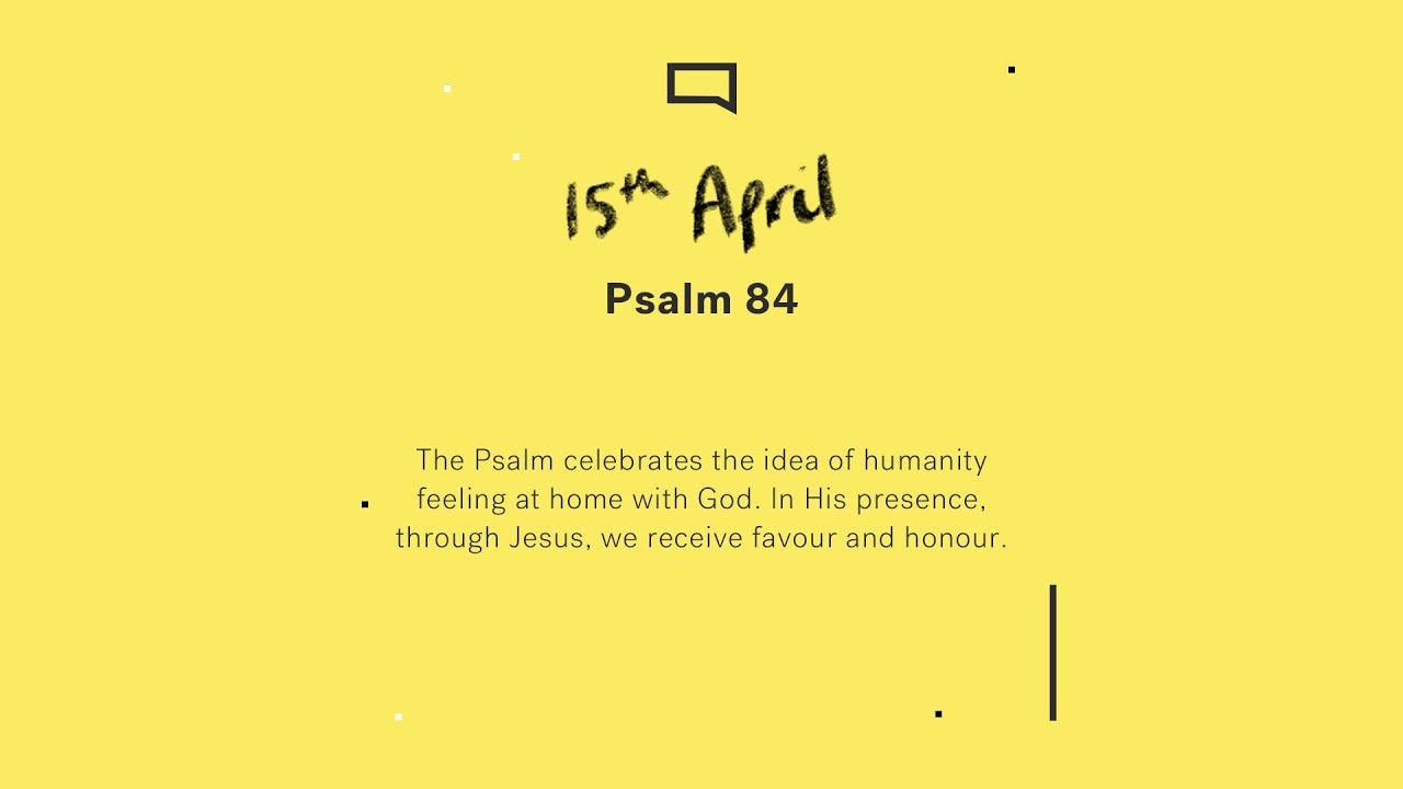 Daily Devotion // Psalm 84 Cover Image