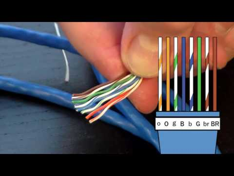 How to Make an Ethernet Cable! - FD500R Crimp Tool Demonstration