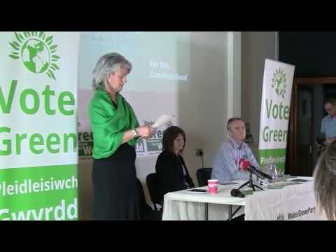 Greens demand an end unacceptable levels of inequality - Manifesto Launch: Pippa Bartolotti