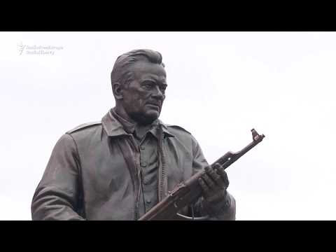 AK-47 Inventor Honoured with Moscow Statue