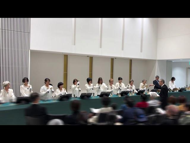 """ハンドベル Handbell, """"Mary Did You Know?"""", Kobe YMCA Bell-choir, 2019 Dec"""