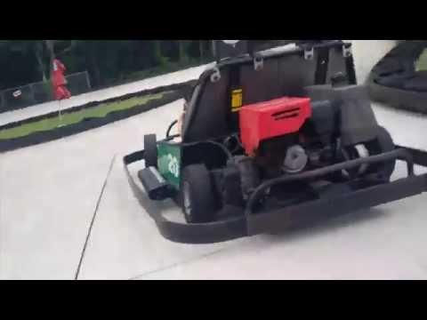 Go Kart Racing @ Adventure Landing Jacksonville Florida