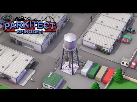 Parkitect: Detailed Backlots - EP 1 -