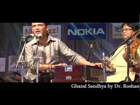 Aasmaa se utaara gaya :- Ghazal Sandhya by Dr. Roshan Bharti AIIMS Delhi , Sponsered by ALLEN
