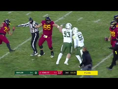 Baylor vs Iowa State Crazy Fight