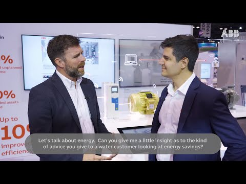 Solve your water challenges with  ABB Trusted Advisors