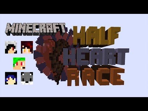 [Minecraft Map] Half Heart Race - ไปให้ถึงจุดหมายด้วยครึ่งชีวิต!