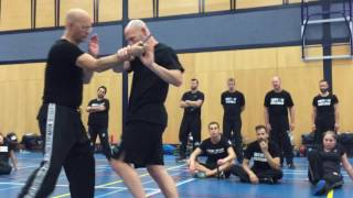 Third Party Protection III with Amnon Darsa at Institute Krav Maga Netherlands.