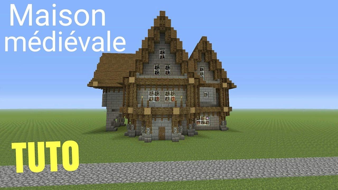 Plan Maison Minecraft Medieval
