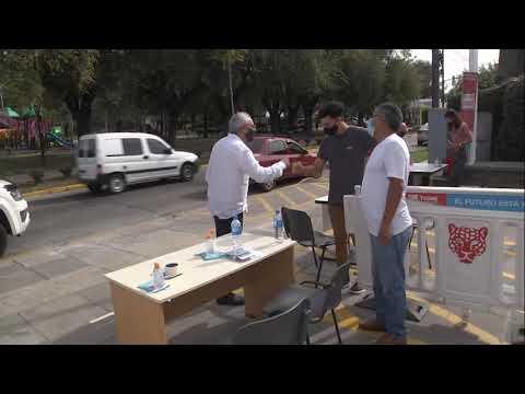 Vacunan contra el Covid en la Delegación Don Torcuato