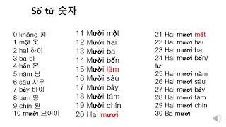 대구신당초 이중언어교실(베트남어) - 숫자, 베트남 화…