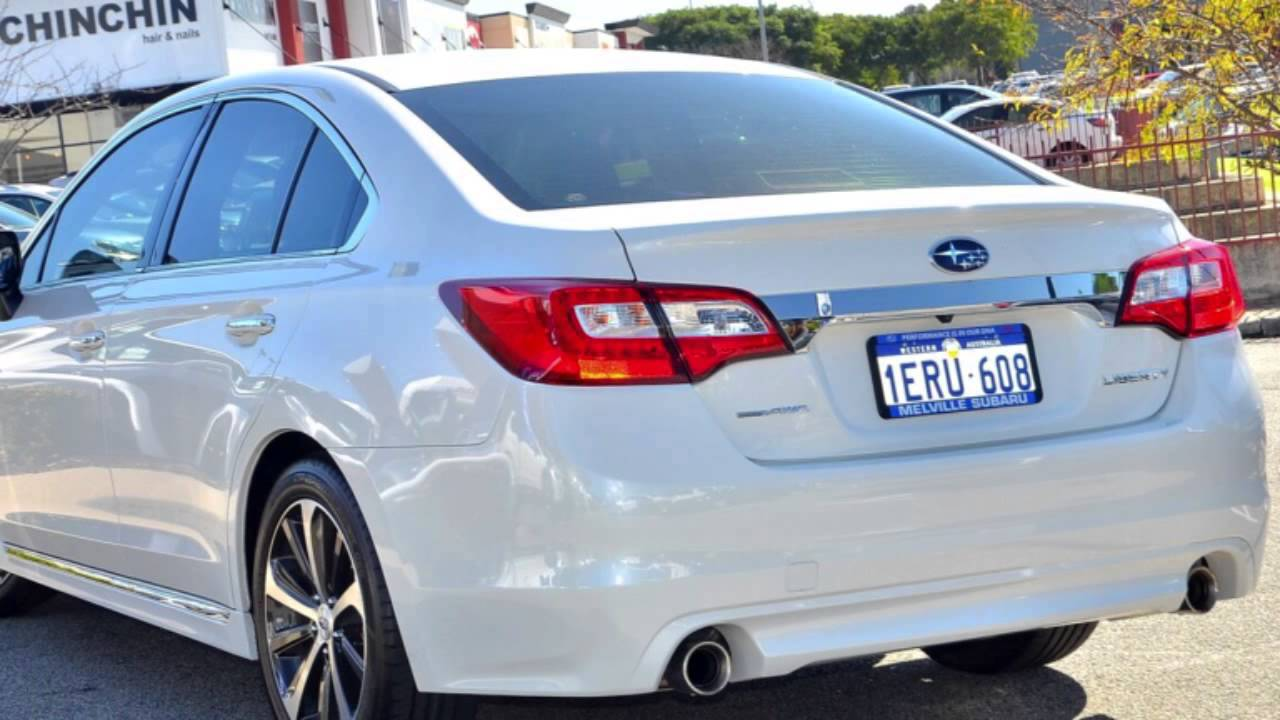 2017 Subaru Liberty B6 My15 3 6r Cvt Awd Crystal White Pearl 6 Sd Constant Variable Sedan You