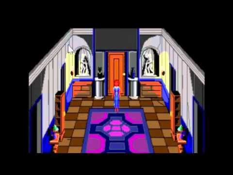Laura Bow 1 The Colonel's Bequest Playthrough / Walkthrough