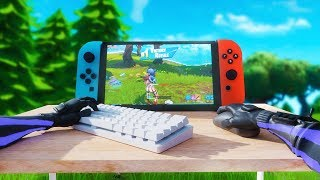 Mouse and Keyboard on Nintendo Switch...