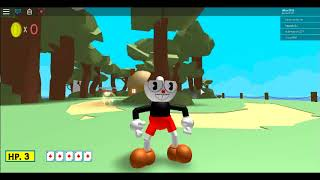 playing cuphead i roblox