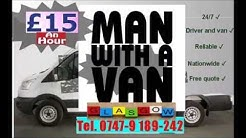 Glasgow Man and Van service local man and van removals handyman Scotland Glasgow