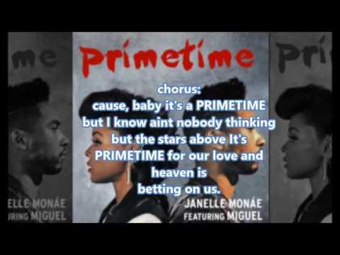 PRIMETIME Janelle Monae ft. Miguel