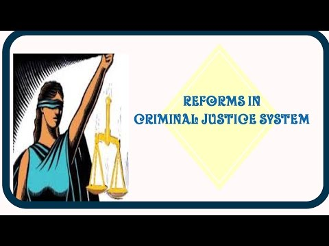 Five steps to Reforms In Criminal Justice System #ESSAY