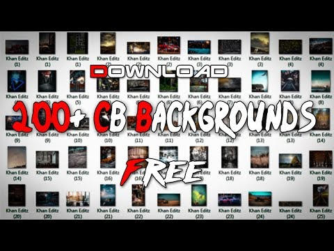 Download 200+ Super Stylish CB Backgrounds Free || Khan Editz