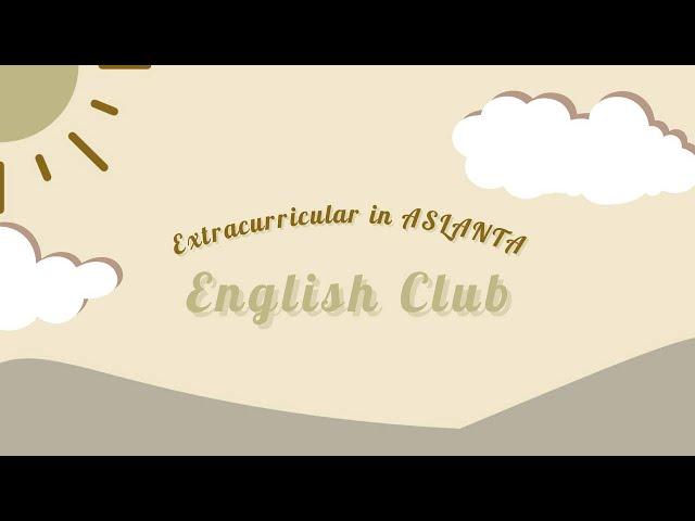 PLSSB 2020 SMAN 9 TANGERANG -  Pengenalan Ekstrakurikuler English Club