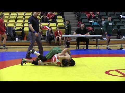 2016 Golden Bear Open: 57 kg Ian Leynes vs. Steven McCarville