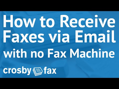 how-do-i...-receive-faxes-via-email-with-crosby-fax®?