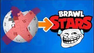 ¡¡¡FAKEEE!!! ¡¡¡BRAWL STARS SALDRA EL 30 DE ABRIL SEGUN WIKIPEDIA!!