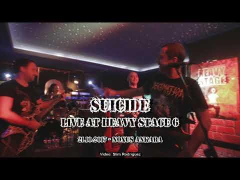 SUICIDE - Live at Heavy Stage 6 - 21.10.2017 Noxus ANKARA